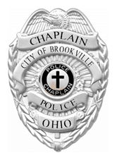 Brookville Police Chaplain Badge