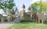 Playground that Looks Like a Castle